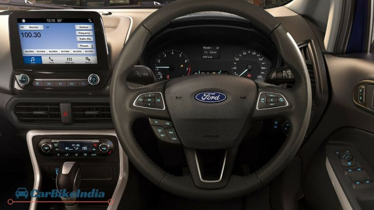Ford EcoSport Facelift 2017 Features