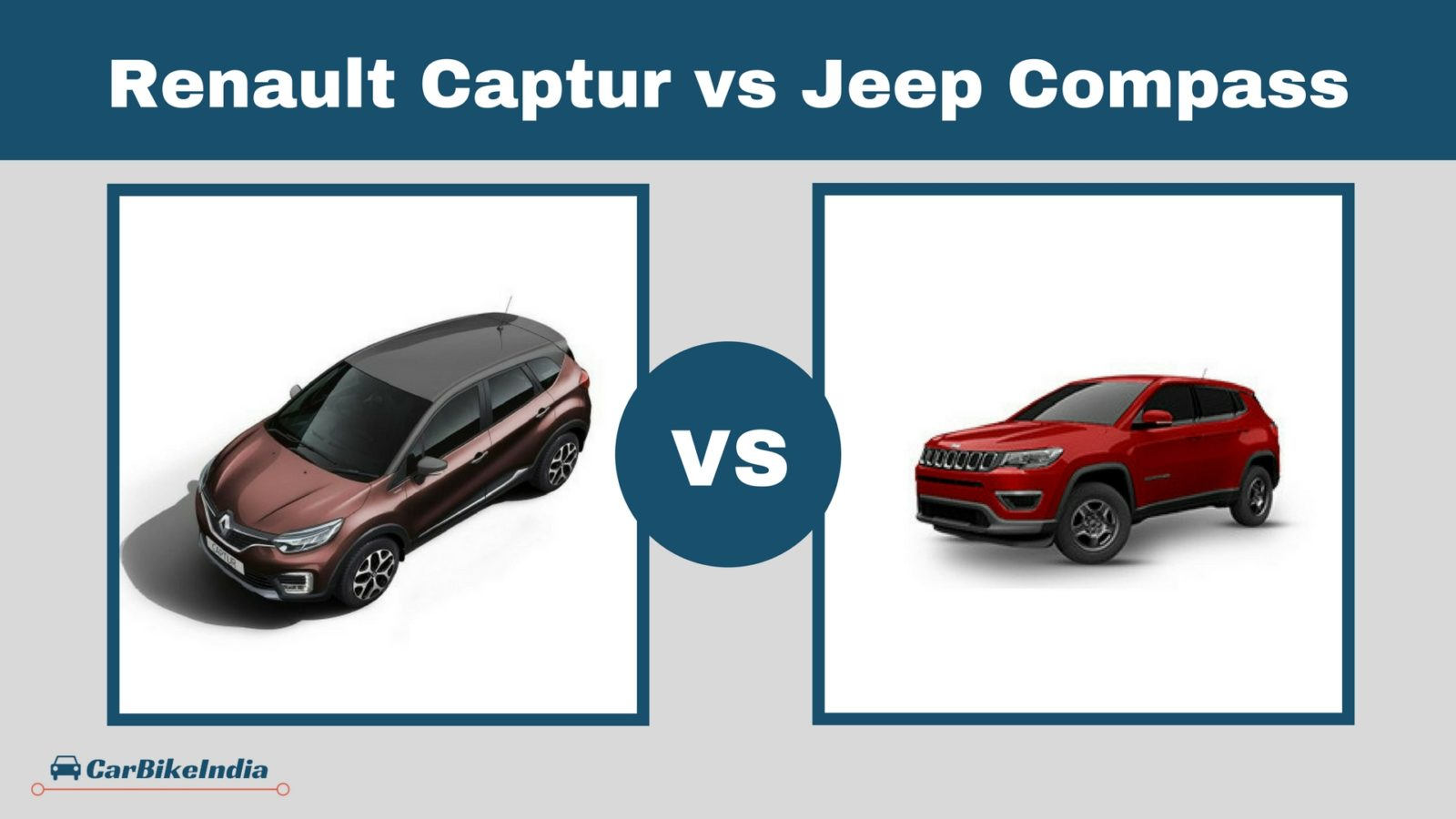 Renault Captur vs Jeep Compass Comparison