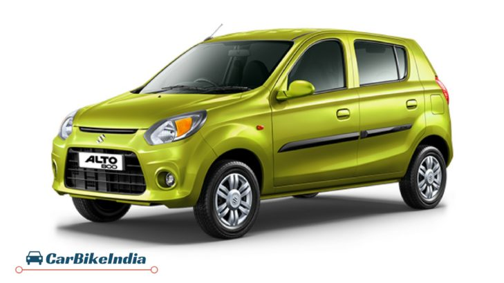 Maruti Alto 800 affordable cars india