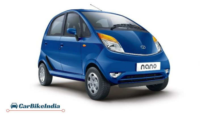 Tata Nano Cars Under 5 Lakhs
