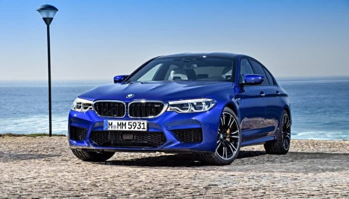 BMW M5 Launched At 2018 Indian Auto Expo