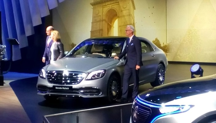 Most Powerful Mercedes-Maybach S650 Launched At Rs. 2.73 Crores