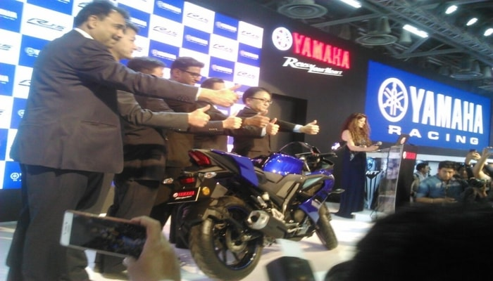 Yamaha R15 V3.0 Launched In India