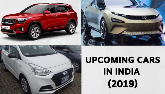 Upcoming cars in India August 2019