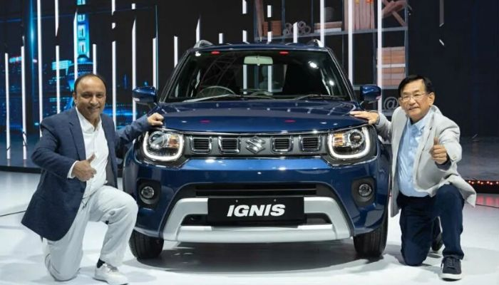 Maruti Ignis Facelift Unveiled at Auto Expo 2020