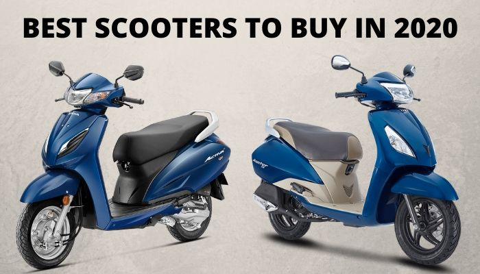 Top Scooters To Buy in India in 2020