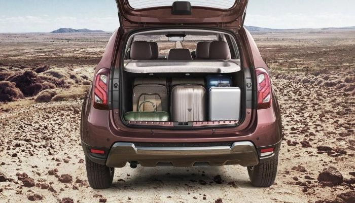 Renault Duster Dimensions Boot Space
