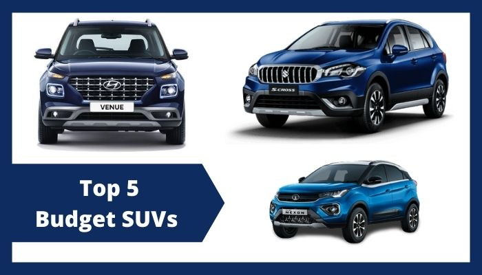 Top 5 Budget SUVs in India Between Rs 6 to 9 Lakh