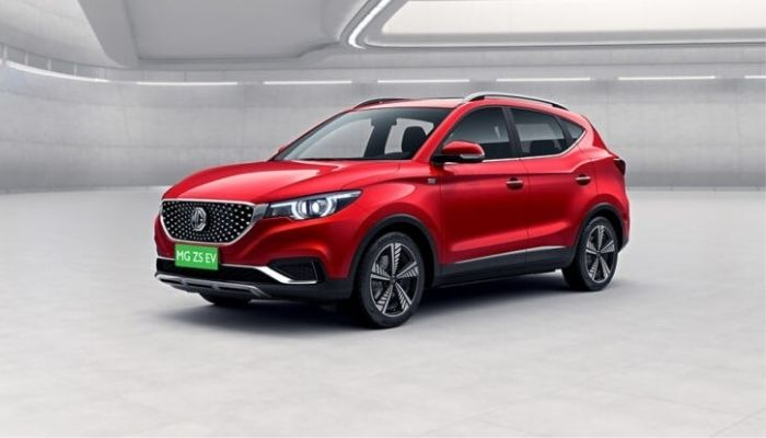 MG ZS EV Top Electric Cars in India