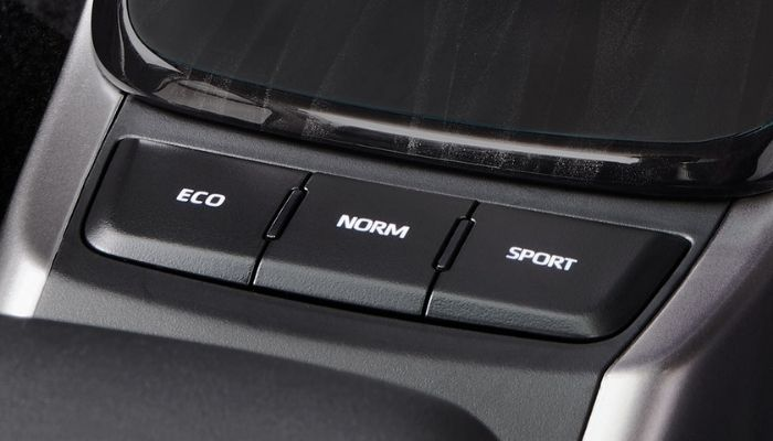 2021 Toyota Fortuner Facelift Drive Modes