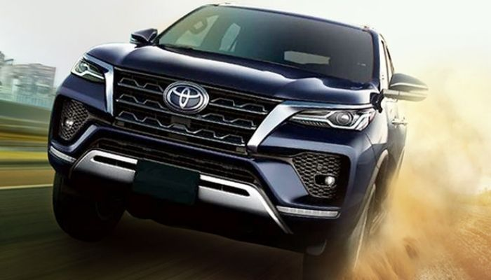 2021 Toyota Fortuner Facelift Ground Clearance