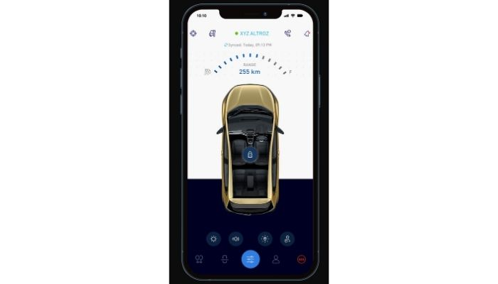Tata Altroz i-Turbo iRA Connected Technology Features