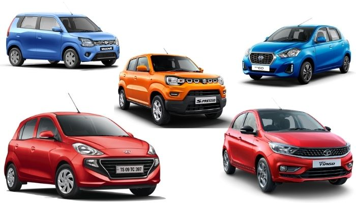 Top 5 Automatic Budget Hatchbacks in India
