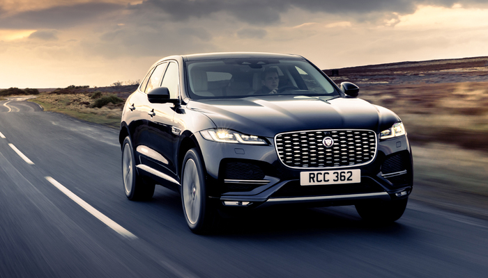 2021 JAGUAR F-PACE launched in india