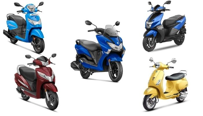 5 Best Gearless Scooters In India