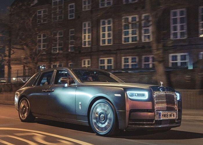 Shah Rukh Khan Rolls Royce