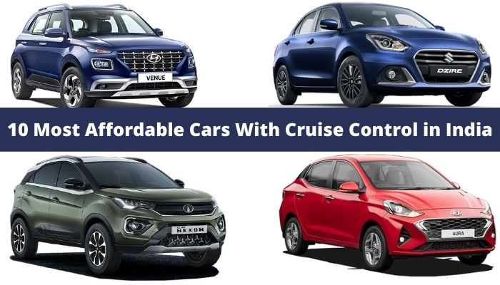 10 Most Affordable Cars With Cruise Control in India
