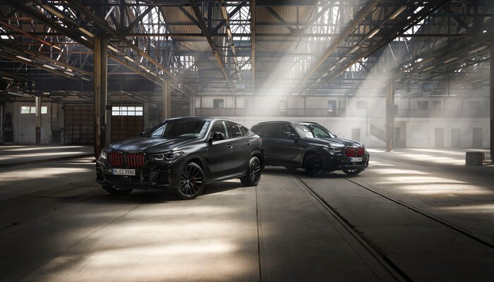 Bmw X5, X6 And X7 Black Edition Variants Launched