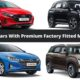 Most Affordable Cars With Premium Factory Fitted Music System