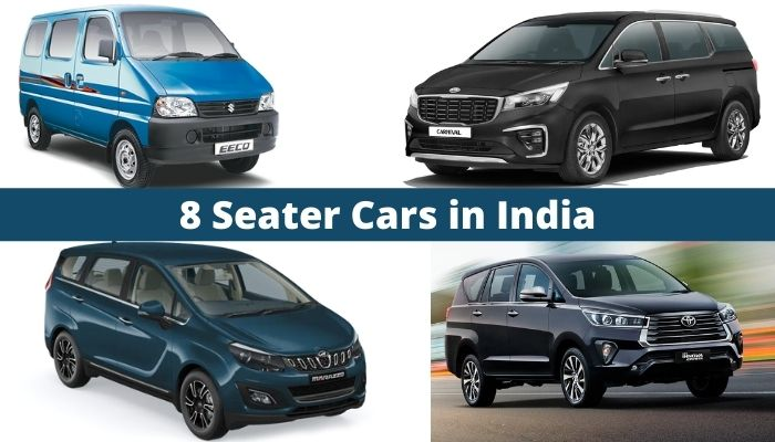 8 Seater Cars in India