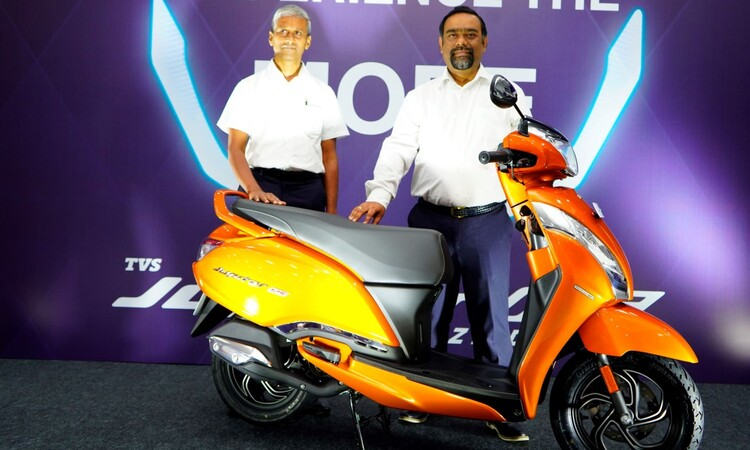 TVS Jupiter 125 launched in India in Three Variants, prices start at Rs 73,400